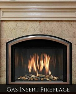 Gas Fireplace Insert Long Island, NY