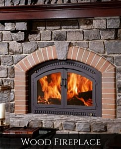 Wood Fireplace Bay Shore, NY