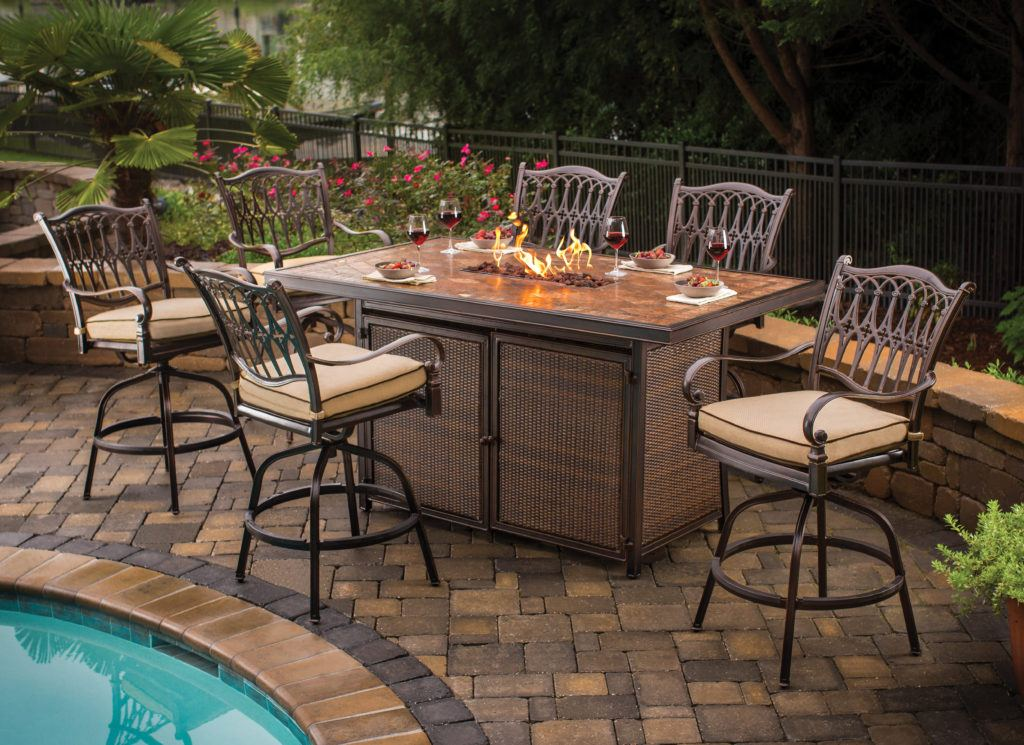 Bar Height Patio Dining Sets Icamblog